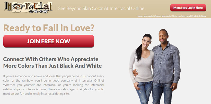 Interracial Online Homepage