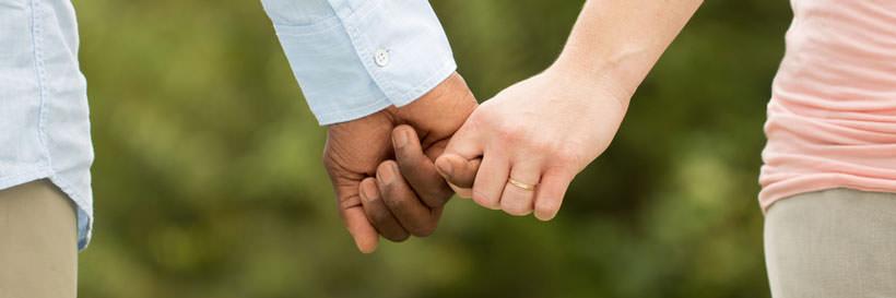interracial couple dating