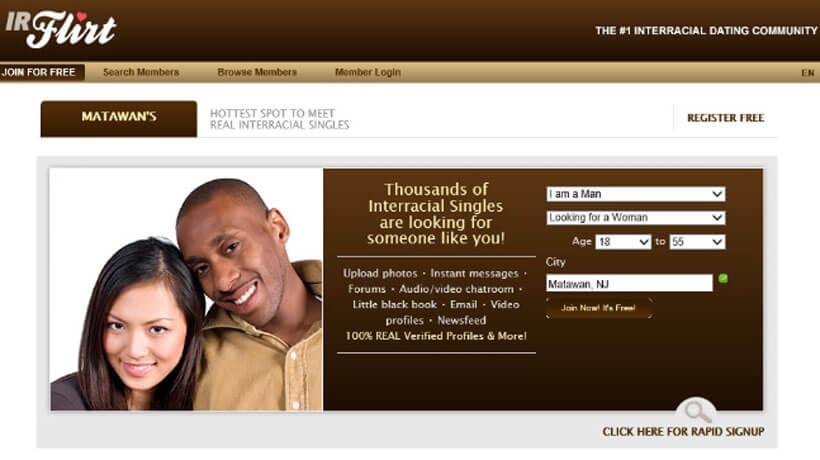 ir flirt homepage